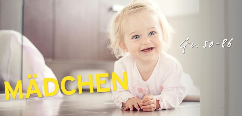 Baby Kleidung für Mädchen (Gr. 50 - 86)