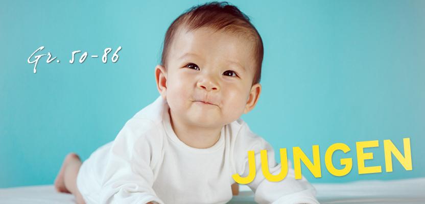 Baby Kleidung für Jungen (Gr. 50 - 86)