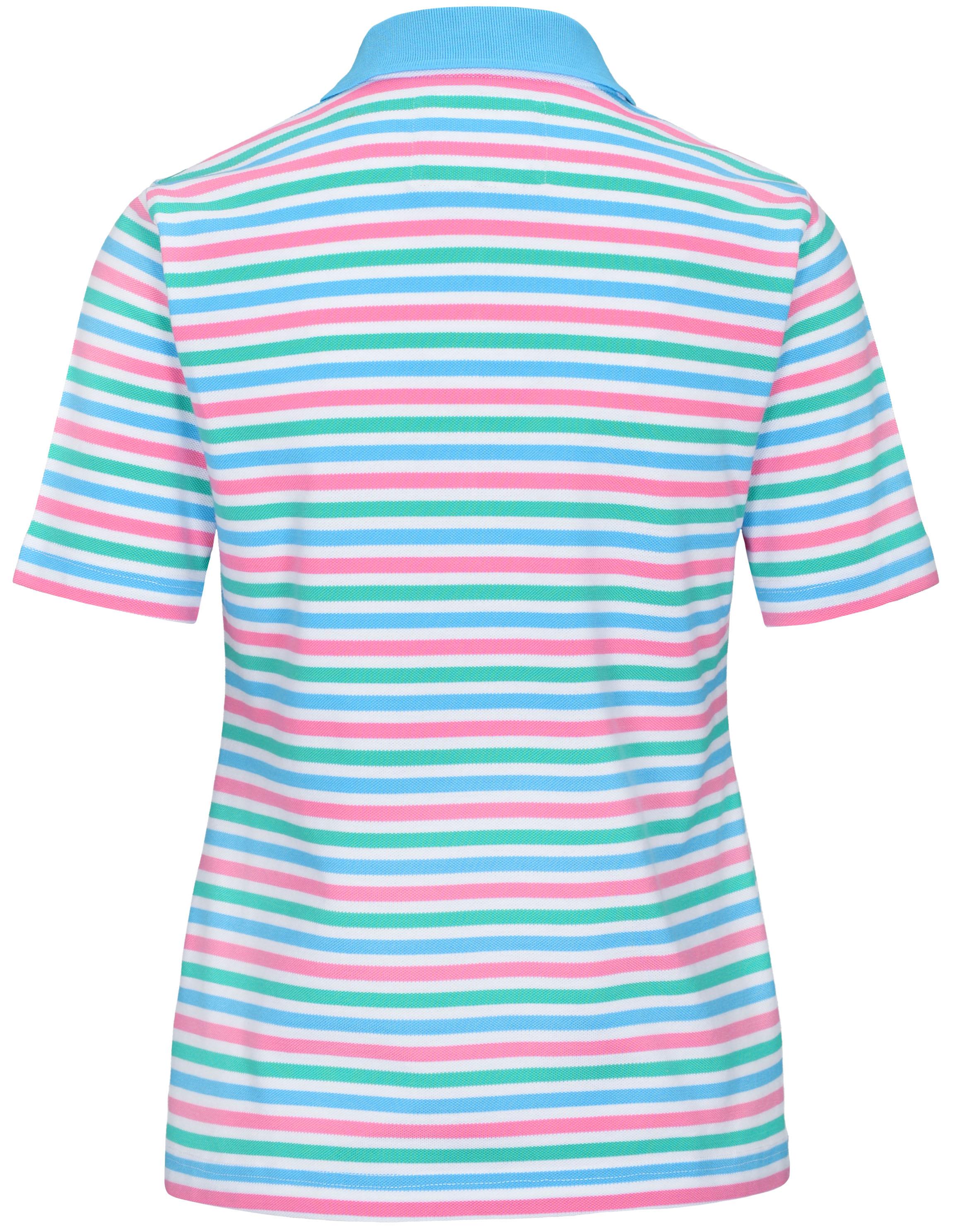 Aruba Combo Streifen Staccato Damen CLARINA Basic Poloshirt Pique 227103999
