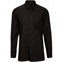 COMMANDER Businesshemd Modern Fit - Black