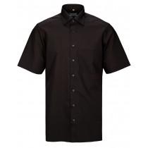COMMANDER Kurzarmhemd Modern Fit - Black
