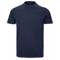 BASEFIELD Basic T-Shirt - Nachtblau