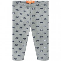 Mini Thermo Leggings Cats - Grey
