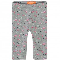 Thermoleggings Baby Regenbogen - Grey Melange