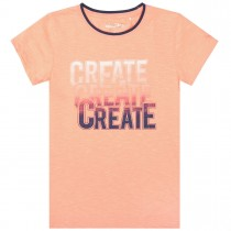 T-Shirt CREATE - Neon Peach