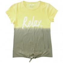 T-Shirt mit Dip-Day-Farbverlauf