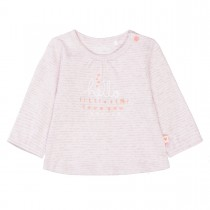 ORGANIC COTTON Tunika Little Star - Soft Rose