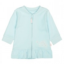 ORGANIC COTTON Jacke TURTLE - Cyan