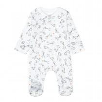 ORGANIC COTTON Pyjama Giraffen - White