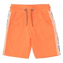 Sweat-Bermudas READY TO LISTEN - Orange