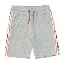 Sweat-Bermudas READY TO LISTEN - Grey Melange