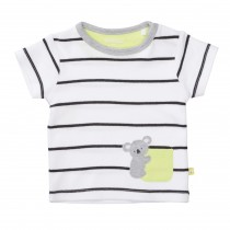 ORGANIC COTTON T-Shirt Koala - White