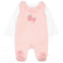 ORGANIC COTTON Strampler mit Shirt MOM&ME - Soft Blush