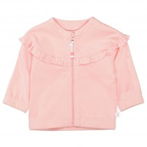 ORGANIC COTTON Jacke mit Volant - Soft Blush