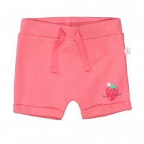 ORGANIC COTTON Shorts Strawberry - Pink Lemonade