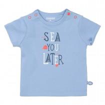ORGANIC COTTON T-Shirt SEA - Soft Ocean