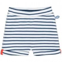 ORGANIC COTTON Shorts Streifen - White