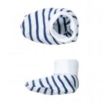 ORGANIC COTTON Schuhe Streifen - White