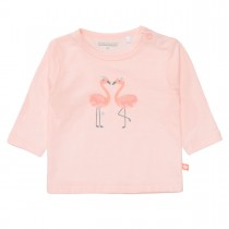 ORGANIC COTTON Shirt FLAMINGO - Soft Peach