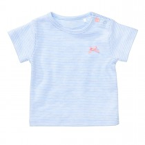 ORGANIC COTTON Streifenshirt - Light Blue