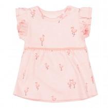 ORGANIC COTTON Tunika Flamingo - Soft Peach