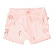 ORGANIC COTTON Shorts FLAMINGO - Soft Peach