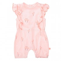 ORGANIC COTTON Overall FLAMINGO - Soft Blush