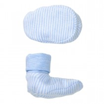 ORGANIC COTTON Schuhe STRIPES - Light Blue