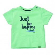 ORGANIC COTTON T-Shirt HAPPY - Bright Apple