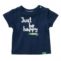ORGANIC COTTON T-Shirt HAPPY - Dark Tinte