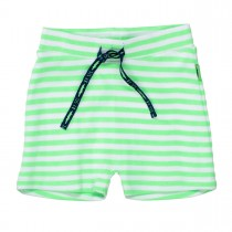 ORGANIC COTTON Shorts mit Streifen - Bright Apple