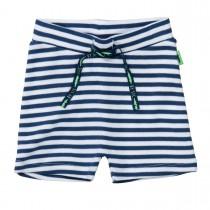 ORGANIC COTTON Shorts mit Streifen - Dark Tinte