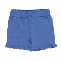 Shorts mit Rüschen - Soft Tinte