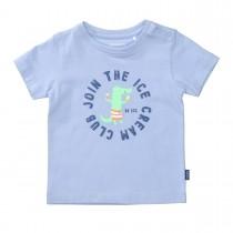 T-Shirt ICE CREAM - Soft Ocean