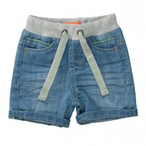 Jeans-Bermudas - Light Blue Denim