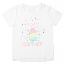 T-Shirt ICE DAY - Soft White