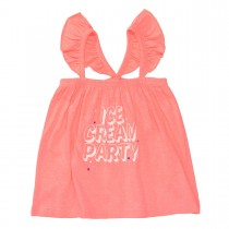 Top ICE CREAM PARTY - Neon Red
