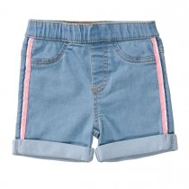 Jeggings-Shorts - Light Blue Denim