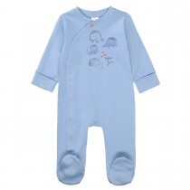 ORGANIC COTTON Pyjama HAVE FUN - Soft Ocean