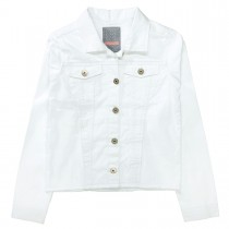 Jeansjacke - Soft White