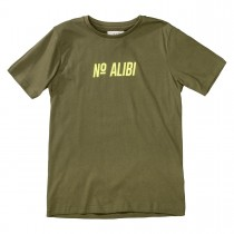 T-Shirt NO ALIBI - Dark Olive
