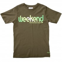 T-Shirt WEEKEND - Dark Olive