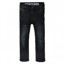 Skinny Jeans Regular Fit - Black Denim