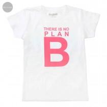 Recycling T-Shirt NO PLAN B  - White