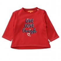 Sweatshirt LIVE LOVE LAUGH - Cherry