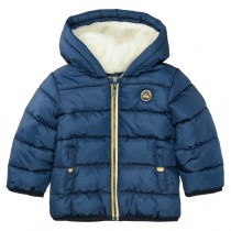 Jacke mit Teddy-Fell - Blue Structure