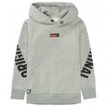 Kapuzen Sweatshirt WKND - Grey Melange