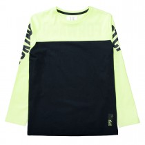 Langarmshirt LOOKING FORWARD - Midnight Bright Yellow