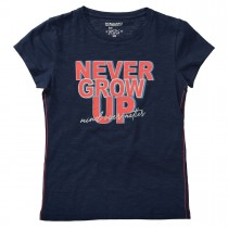 T-Shirt NEVER - Deep Tinte