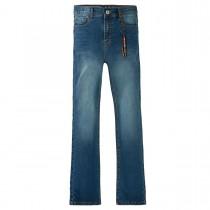 Bootcut- Jeans Slim Fit  - Mid Blue Denim